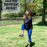 Entraînement au poids corporel de 15 minutes dans la cour (1)