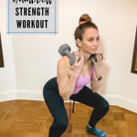 Entraînement de force avec haltères pour le bas du corps