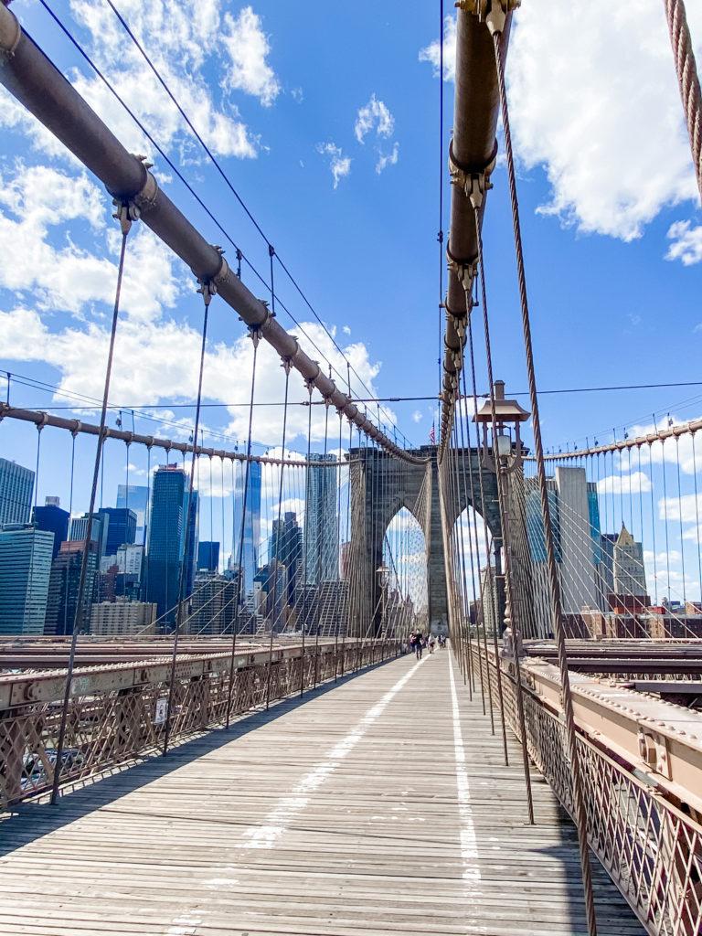 pont de brooklyn pendant la quarantaine