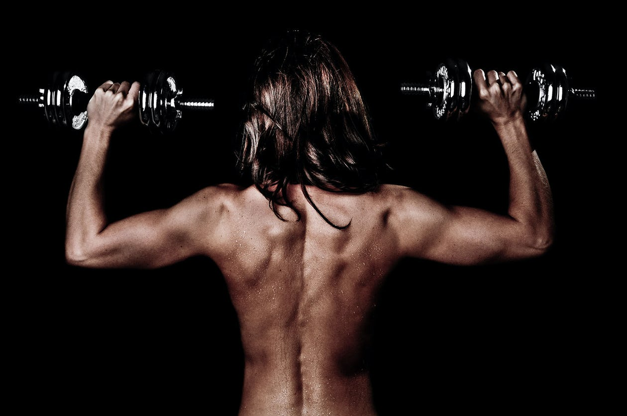 Dumbbell Clean and Press: The Exercise Your Body Needs